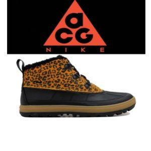 Nike ACG Women's Boots Size 8 Cheetah Print